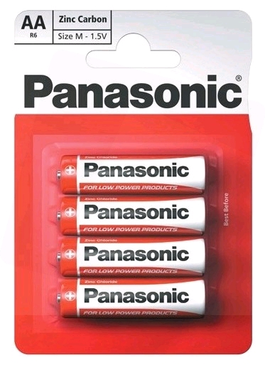 Panasonic Special Zinc Carbon Mignon Battery AA